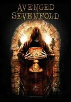 Avenged Sevenfold Golden Arch Poster Flag Fabric Textile Wall Banner Official