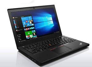 Lenovo ThinkPad x260 - i7-6500U - 240GB SSD - 4GB RAM - Win 10 Ultabook Laptop
