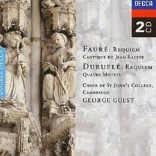 Gabriel Faure : Faure: Requiem / Durufle: Requiem, Etc. (Choir of St John's