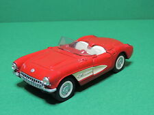 Majorette Legends Chevrolet Corvette 57 Chevy Cabriolet 1:30 Red car France