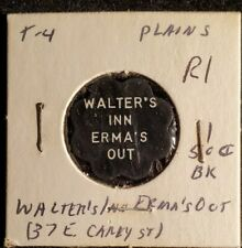 Walter's Inn Erma's Out Plains PA good for 50c in trade token♤gft985◇R1