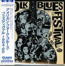 V.A.-AMERICAN FOLK BLUES FESTIVAL 1964-65-JAPAN 2 MINI LP CD C94