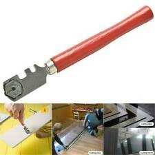 Tipped Glass Diamond Tile Cutter 6 Wheels Steel Ferrule Cutting Craft Hand Tool~