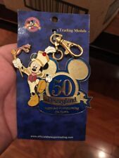 Hard 2 Find Disneyland Happiest Homecoming on Earth 50th Annivers Lanyard Medal