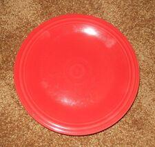 1 FIESTA DINNER PLATE RED