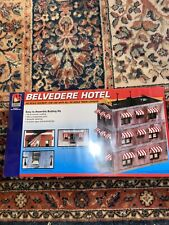 HO Scale Walthers Life-Like 433-1339 Belvedere Downtown Hotel Building Kit