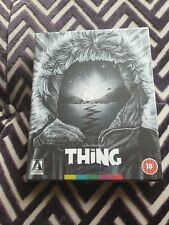 THE THING Limited Edition Arrow Video Blu-Ray John Carpenter (NEW & SEALED)