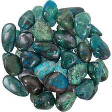 2 Ounces Tumbled Chrysocolla Stones!