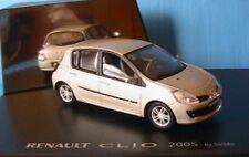 RENAULT CLIO 3 2005 BEIGE POIVRE SOLIDO 7711237454 NOUVELLE LIGNE 1/43