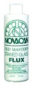 Stained Glass Supplies - OLD MASTERS FLUX-8oz (FREE SHIPPING)