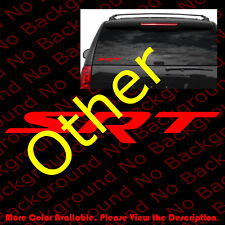 Srt Stickers Vinyl Die Cut Decals Chrysler Dodge Challenger Hemi Charger Rc062