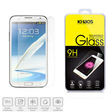 KHAOS Premium Tempered Glass Screen Protector For Samsung Galaxy Note 2 /Note II