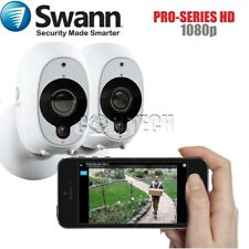 Swann WHD-INTCAM ™ Swann Smart Security HD-1080p Wireless PIR Camera (2 Pack) *