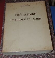 LIONEL BALOUT - Préhistoire de l'Afrique du Nord - Arts et Métiers Graphiques