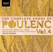 Malcolm Martineau, F - Complete Songs of Poulenc 4 [New CD]