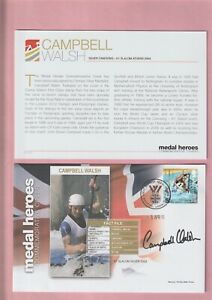 G.B. London 2012 Olympic Games, Medal Heroes, Campbell Walsh Signed Cover