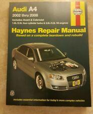 AUDI A4 AVANT CABRIOLET 2002-2008 Haynes Repair Manual #15030