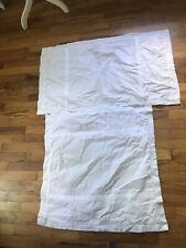 Pottery Barn Cotton Pillow Sham, 1 King Plus 1 Euro Pure White!