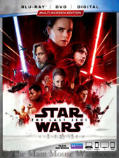 Lucasfilm Star Wars Episode VIII 8 The Last Jedi Blu-ray DVD & Digital Copy Code