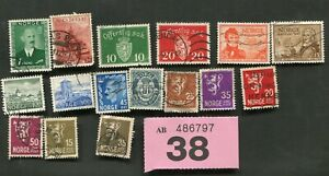 Set stamps of   Norway