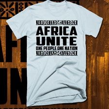 Africa Unite T-Shirt Nelson Mandela Bob Marley Quote Africa Unite Black Pride