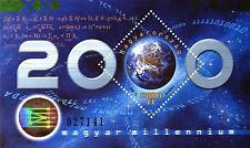 UNGARN 2000 - Hologramm - Gabor Nobelpreis - Millennium - Mathematik - Formel