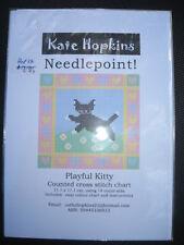 Counted Cross Stitch Chart Australian Design Playful Kitty Cat BNIP Fast Postage