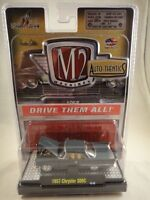 M2 Machines Auto-Thentics 1957 Chrysler 300C Greenish Gray Release 20 NEW 1:64