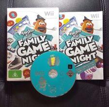 Hasbro Family Game Night (Nintendo Wii, 2008) Wii Game - PAL - FREE POST
