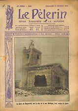 Ruunvald Lighthouse Baltic sea Phare de Rugenvald Baltique WWI 1914 ILLUSTRATION