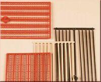 Auhagen 48649 Firstleisten, Abschlussleisten in H0/TT Bausatz Fabrikneu
