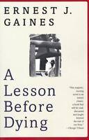 A Lesson Before Dying by Ernest J. Gaines 1997 Paperback