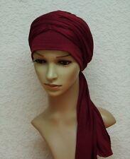 Turban head snood, volume turban , chemo head wear, chemo head covering,  turban