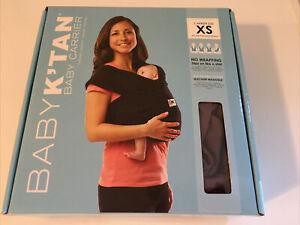 New Baby K'tan Original Baby Carrier Eggplant Purple X-small XS
