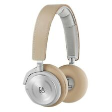 BeoPlay H8 Leather Over Ear Wireless Noise Cancelling Headphones in Natural
