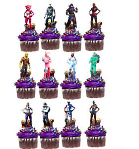 FORTNITE Cupcake Topper
