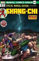 SHANG-CHI #1 DERRICK CHEW HOMAGE VARIANT LIMITED TO 1000 COPIES WITH COA