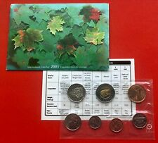 2003 - - PL Set- - Canada Proof Like Mint Set - With COA and Envelope Free Ship