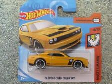 Hot Wheels 2018 # 143/365 2015 DODGE CHALLENGER SRT GIALLO MUSCOLO Mania