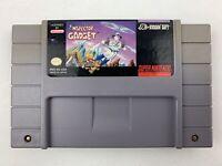 Inspector Gadget Snes Super Nintendo Game Tested Works