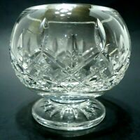 VINTAGE 1990s WATERFORD CRYSTAL BOWL FOOTED CANDY DISH LISMORE 24% LEAD IRELAND