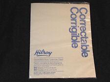 Vintage Hilroy Erasable Bond Typing Paper Correctable Canada 80 pgs NOS