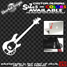 Bass Guitar Music Man Custom Vinyl sticker Jazz Car Window Gibson Fender Laptop