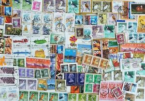 HONG KONG KILOWARE - Stamps on Paper - 35 Grams