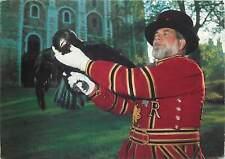 United kingdom big bird traditional postcard man red hat