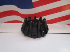 LEGO (1) BLACK HARD PLASTIC WHEEL WITH SMALL CLEATS & FLANGESPART #64712