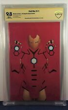 CIVIL WAR II #1 9.8 JTC Negative Space Variant SIGNED Christopher CBCS not cgc