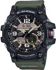 Casio GG-1000-1A3 DR G-Shock Mudmaster Twin Sensor Ana-Digital Men's Watch Green
