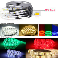 DC12V 1M-5M 5630 waterproof 300 LED Light Strip Flexible Ribbon 3M Tape lamp