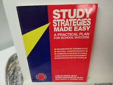 Study Strategies Made Easy Practical Plan... by Davis, Sirotowitz & Parker Book